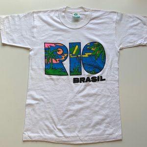 Vintage Unworn Rio De Janiero souvenir T-shirt
